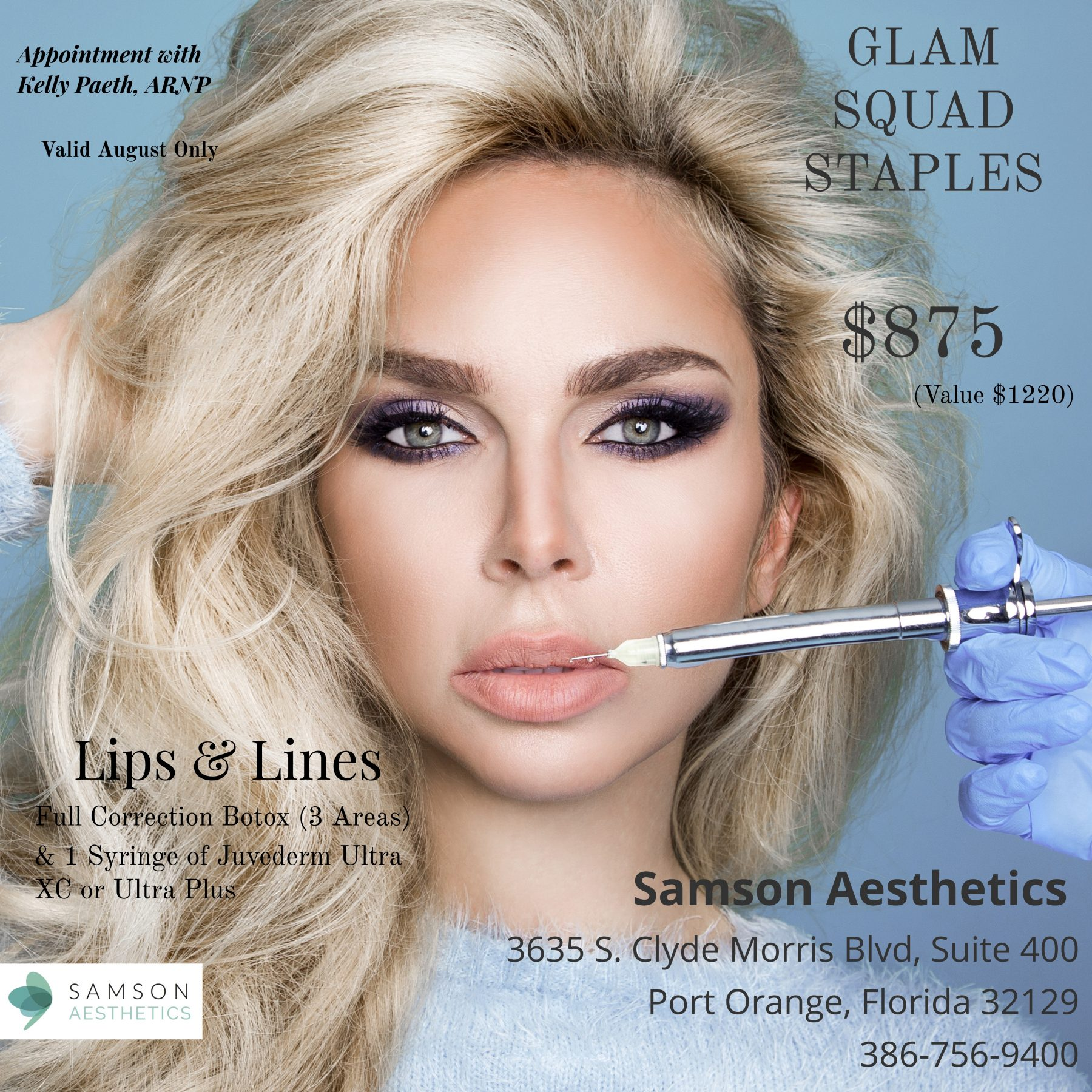 Facial Injectables | Daytona Beach, FL | Dr  Samson